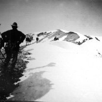 Image of Climbing over Greybull Pass