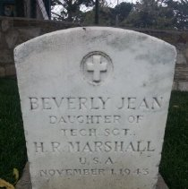 Image of Marshall, Beverly Jean J249