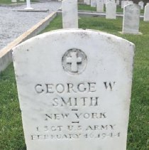 Image of Smith, George W., 1st Sgt., U.s. Army G265