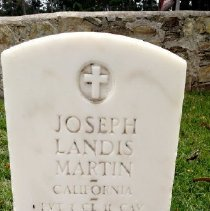 Image of Martin, Joseph Landis, Pvt., 1 Cl., 11th Cavalry M203