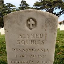 Image of Squires, Alfred, 1st Sgt., 20th Infantry L323