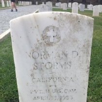 Image of Storms, Norman D., Pvt., Troop F, 11th Cavalry D149