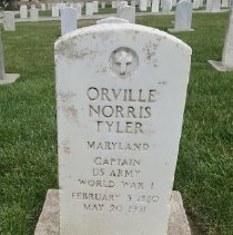 Image of Tyler, Orville Norris, Cpt., U.s. Army, World War I Veteran D363