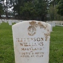 Image of Williams, Jefferson F., 1st Sgt., U.s. Army G176
