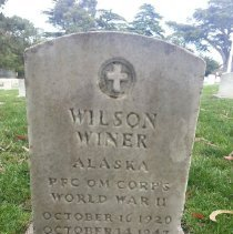 Image of Winer, Wilson, Pfc Qmc, World War Ii Veteran K314