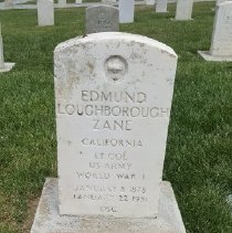 Image of Zane, Edmund Loughborough, Lt. Col., U.s. Army, World War I Veteran D362