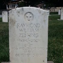 Image of Zehring, Raymond William, Capt., 166th Fa Brid, 91st Division E137