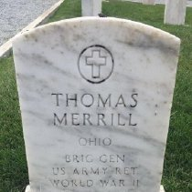 Image of Merrill, Thomas, Brig. General, U.s. Army, World War Ii Veteran D388