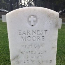 Image of Moore, Earnest, Master Sgt., U.s. Army, World War I And Ii Veteran L354