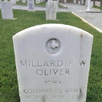 Image of Oliver, Millard F.w., Col., U.s. Army, World War I And Ii Veteran D379