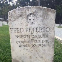 Image of Peterson, Fred, Cpl, Band, 38th Infantry D156