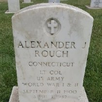 Image of Rouch, Alexander J., Lt. Col., U.s. Army, World War I And Ii D373