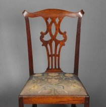 Image of Chair - Needlework by Rose Standish Nichols