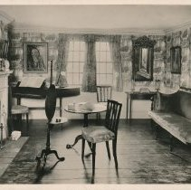 Image of Postcard - New England Parlor-1800, Museum of the Essex Institute Salem, Mass.