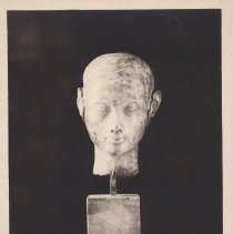 Image of Postcard - Tete d'un fille du roi Akhnaton XVIII dynastie