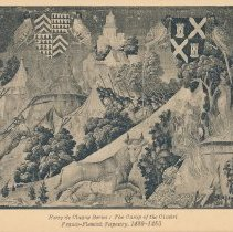 Image of Postcard - Ferry de Clugny Series: The Camp of the Cimbri Franco-Flemish Tapestry, 1480-1483