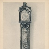 Image of Postcard - Tall Clock, Signed by Bartholomew Barwell, working in New York about 1760