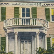 Image of Postcard - Langdon Doorway, Portsmouth, N.H.