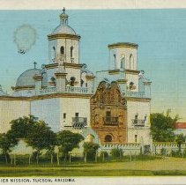 Image of Postcard - San Xavier Mission, Tucson, Arizona