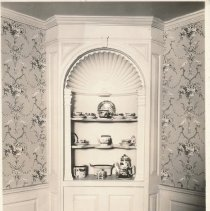 Image of Postcard - Corner Cabinet in Dining Room