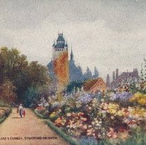Image of Postcard - Shakespeare's Garden, Stratford-on-Avon