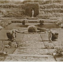 Image of Postcard - Hampton Court Palace. Tudor Garden