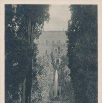 Image of Postcard - Trivol-Villa d'Este- Piazzale dei Cipressi
