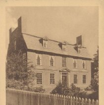Image of Postcard - Derby House (1761-62) Home of Elias Hasket Derby, Salem Merchant and Shipowner