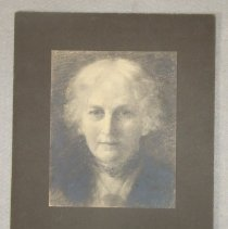 Image of Charcoal Drawing of Mrs. Raphael Pumpelly
