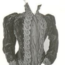 Image of NT 72.39.7.37 - Jacket, Mourning