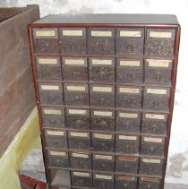 Image of X.CL.2007.031 - Cabinet, Filing