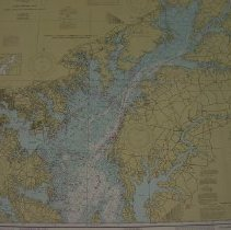 Image of Chesapeake Bay: Sandy Point to Susquehanna River, Maryland 1979 - 1610.067