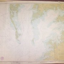 Image of Chesapeake Bay: Pocomoke and Tangier Sounds,  Maryland Virginia 1977 - 1610.075
