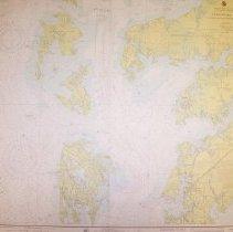 Image of Chesapeake Bay: Tangier Sound - Northern Part,  Maryland Virginia 1975 - 1610.076