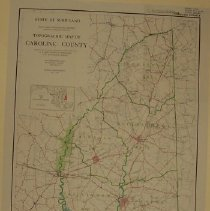 Image of Topographic Map of Caroline County
