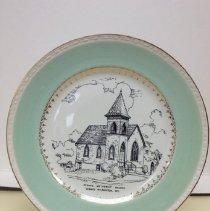Image of 2013.047.002 - Plate, Commemorative