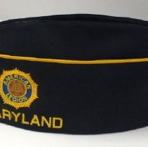 Image of 2013.103.001 - Cap, Military