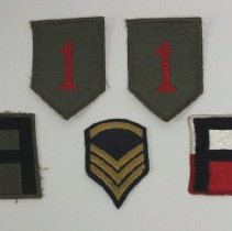 Image of 2013.103.002 - Patch, Military