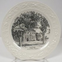 Image of 2014.068.001 - Plate, Commemorative