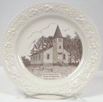 Image of 2014.068.009 - Plate, Commemorative