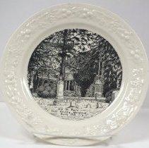 Image of 2014.068.010 - Plate, Commemorative