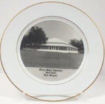 Image of 2014.068.012 - Plate, Commemorative
