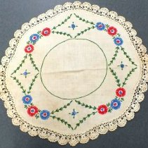 Image of 1990.036.019 - Doily