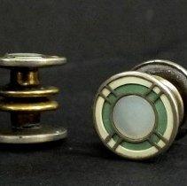 Image of 2012.290.005 - Cufflinks