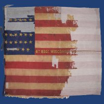 Image of Civil War Battle Flag - V1964.219.44