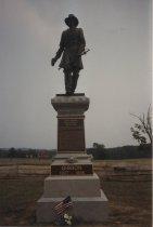 Image of John Gibbon Monument at Gettysburg