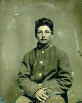 Image of Unidentified Civil War Soldier - WVM.1751.I001