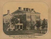 Image of Civil War Print of United States General Hospital - WVM.1112.I001