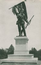 Image of Monument to Soldiers of the 7th Rhode Island Infantry Regiment at Vicksburg