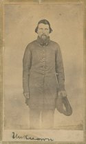 Image of Unidentified Civil War Soldier - WVM.0004.I115